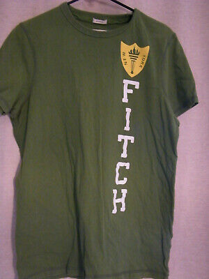 fcaf7b48 ABERCROMBIE & FITCH New York Muscle T-Shirt XL SWEN ON LETTERS ...
