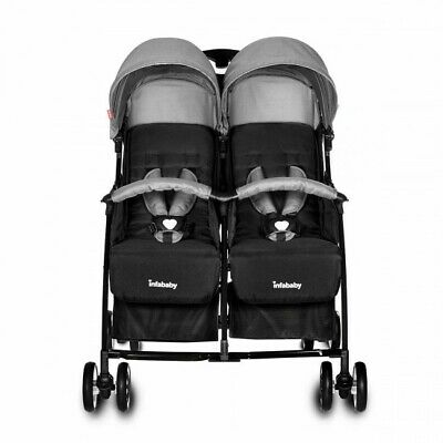 Infababy Duo–Lite Double Buggy - Shadow Grey