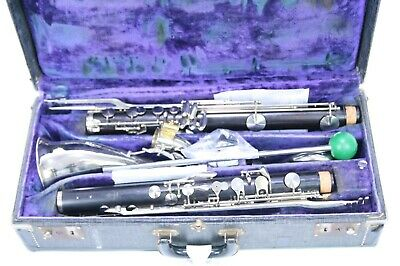 Bass Clarinet Noblet wood overhauled recently with 1 year waranty
