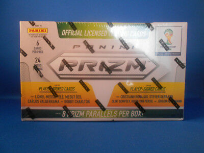 Panini Prizm FIFA World Cup 2014 Soccer (Export) Hobby Box