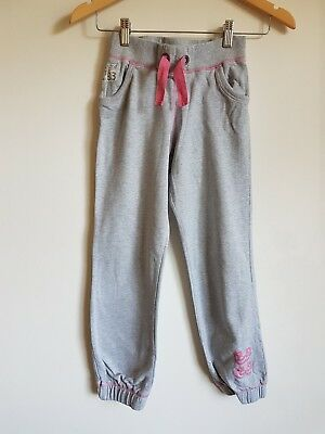 Girls F&F Grey Track Bottoms Age 9-10 Years <S3501