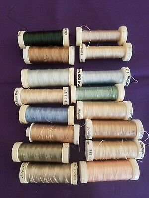Sulky Rayon Machine Embroidery Thread 225 meters 16 Spools