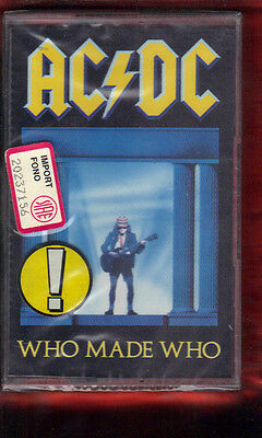 Ac/Dc-Who Made Who Musicassetta Mc Mc7  K7 New Sealed