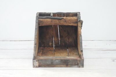 Antique Primitive Wood Farriers Tool Box Farriers Handmade Wood Box AAFA