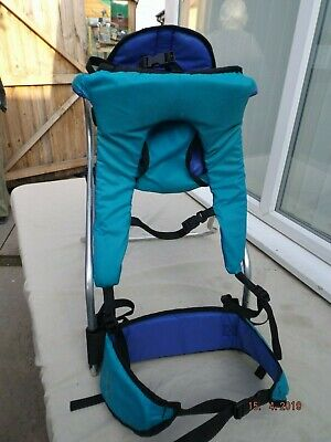 Tomy Snugli Baby Backpack Carrier,lightweight,padded Straps,adj Seat,clean,g/c
