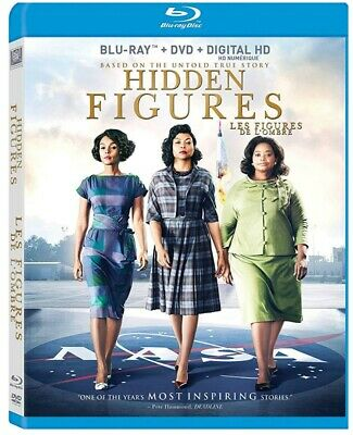 Hidden Figures (Bilingual) [Blu-ray + DVD + Digital Copy] *NEW*