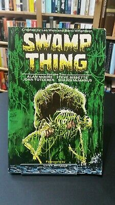 Swamp Thing volume two, Alan Moore (first printing 1987)
