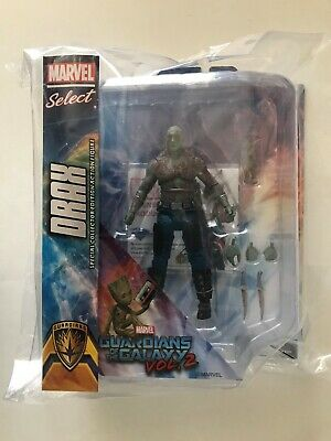 Diamond Select - Marvel Select Guardians of the Galaxy Vol 2: Drax & Baby Groot