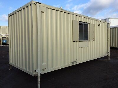 Site Welfare Unit Office Cabin Drying Room Canteen Toilet Generator 20ft