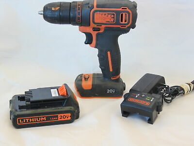 BLACK & DECKER - BDCDD120 - DRILL - Battery and Charger Included