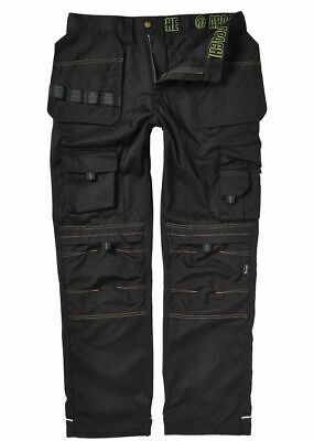 Apache Combat Cargo Work Wear Cordura Trousers Kneepad & Holster Pocket