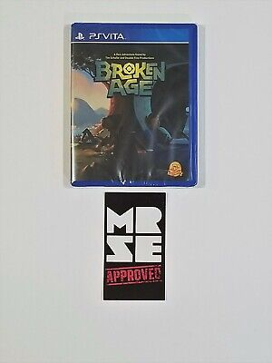Broken Age Limited Run Games #61 for Sony PS Vita New Sealed