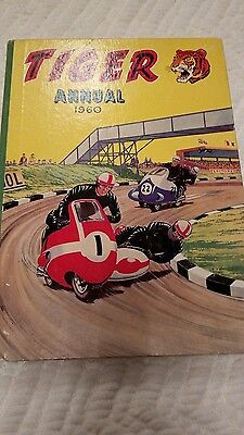Tiger Annual 1960  Very Good Condition Re Age