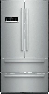 Bosch 800 Series 36 Inch 4-Door French Door Refrigerator B21CL80SNS Stainless