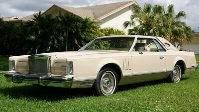 """1979 Lincoln Continental  1979 Lincoln Continental Mark V Cartier """"18,892 miles Showroom New"""""""