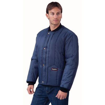 RefrigiWear 0525R-XLG Cooler Wear XL Navy Jacket