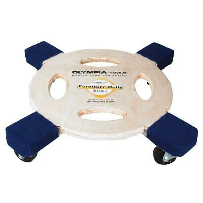 Olympia Tools Round Platform Furniture Dolly 363kg 800lbs Capacity MovingTools
