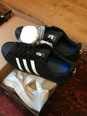 d040a6cfda0 Adidas Superstar Vulc ADV Skate Shoes Black White Size Uk12 Brand New In  Box.