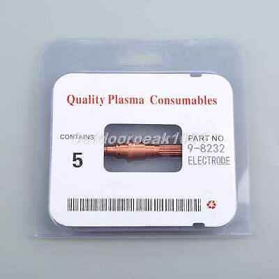 Plasma Cutter Consumables 9-8232 Electrode 120A Fit for SL60 SL100 5PK UK STOCK