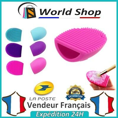 Cleaning Brushes Brush Brushegg Makeup Cosmetic Cleaner Glove Silicone