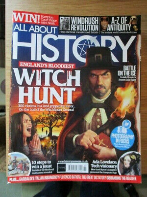 All About History Magazine Issue No.65 Witch Hunt