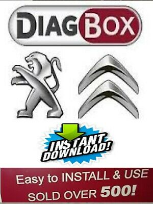 Diagbox 7.83 Software for Peugeot Citroen  Lexia 3 interface VMware easy install