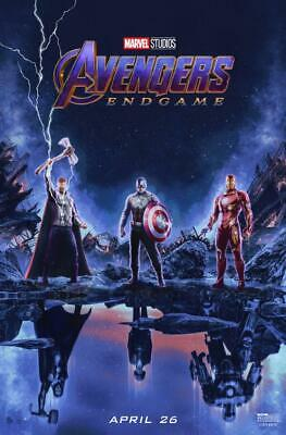 "Avengers Endgame Poster 48x32"" 40x27"" 2019 MCU End Game Movie Print Silk"