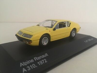 Alpine Renault A310.   1600.  1972.         WhiteBox 1:43