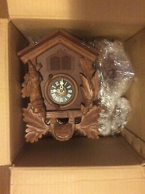 Vintage black forest cuckoo clock 1969 still in box