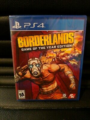 Borderlands - Game of the Year Edition PS4 2019 - Physical Edition.