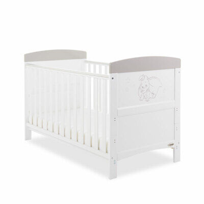 Disney Inspire Dumbo Cot Bed - Don't Just Fly Baby Nursery Furniture