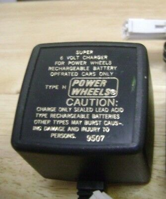 Power Wheels 6VDC Battery Chargers Model:BC-120-61200 and Model:C-6080