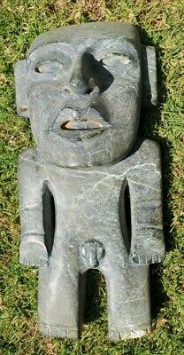 Pre-Columbian Teotihuacan Stone figure from Mexico. CA. 650 ad.