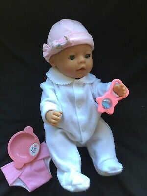 Baby Born Doll. Fully Dressed With Extras.