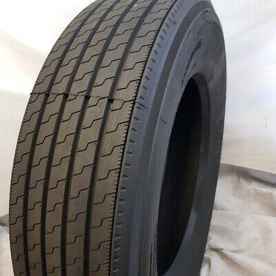 (4-Tires) 285/75R24.5 G/14 PLY 144/141M - ROAD CREW HANKONG STEER TIRES 28575245