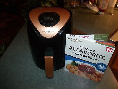 Copper Chef Air fryer 2 QT Turbo Cyclonic With Rapid Air Technology NEW