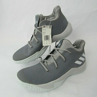 ee780edf8877 Adidas Rise Up 2 Ankle High Basketball Shoes Gray White CQ0557 Sizes 9 10.5  11.5
