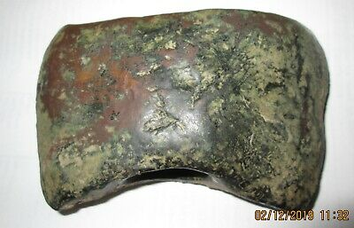 "Double edged Central Asian Bronze Axe before c. 1000 BC  4 5/8 "" long"