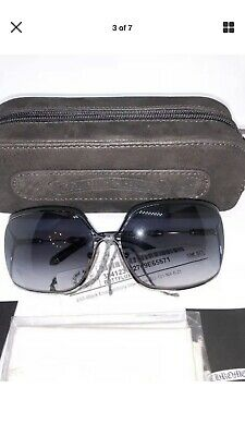 d6db214997 Chrome Hearts Womens Black Silver Frame Sunglasses. Picture Is Generic