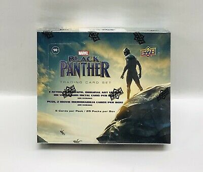 2018 Upper Deck Marvel Black Panther Sellado Hobby Caja