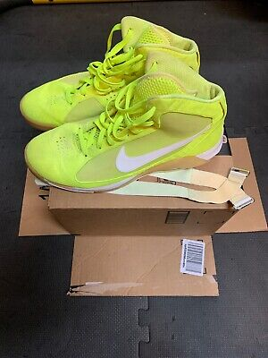 f5642299d Nike Air Hypermax Tennis Ball Yellow Volt 375946-711 Size 14 Pre-Owned