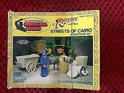 Kenner Streets Of Cairo Indiana Jones Raiders Of The Lost Ark  Mib Sealed