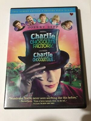 Charlie and the Chocolate Factory (DVD, 2005) Full Screen