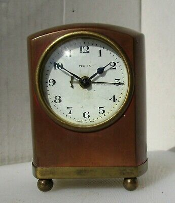 Wonderful Copper and Brass Alarm Clock from VEGLIA