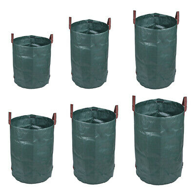 Large Garden Waste Tip Bags Heavy Duty Non Tear Woven Plastic Sack Full Size