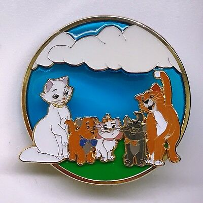 LE 75 Fantasy Aristocats Duchess O'Malley Marie Berlioz Kitten Cat Disney Pin