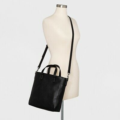 Universal Thread Rowan Small Tote Handbag - Black
