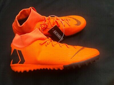c056868436f NIKE Mercurial SuperflyX 6 Academy Indoor Soccer Shoes Mens 10 Orange