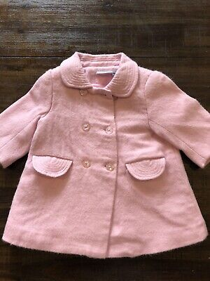 Lady Bird Pink Coat 0 6-9  Months New Without Tags