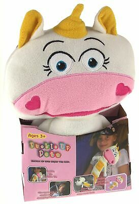 Buckle Up Pet Felicia Unicorn Kid Baby Cuddle Pocket Seat Belt Toy Cushion Plush